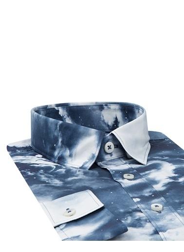 Tween Slim Fit Düz Gömlek Lacivert